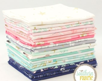"Magic - Half Yard Bundle - 21 - 18""x 44"" Cuts - Sarah Jane - Michael Miller Quilt Fabric"
