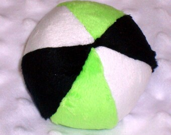 Dog Ball - Dog toy Squeaker Ball - Squeaker Ball Toy for Dogs - Ball with Rattle for Baby - Minky Ball