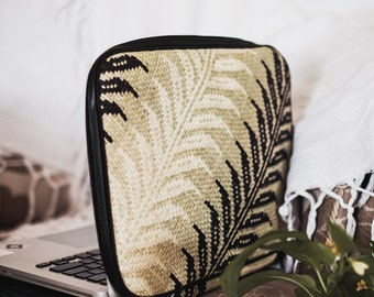 Handwoven Laptop Sleeve | Tablet Sleeve | Gadget Bag | Gadget Case | Stylish | Tropical