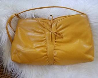 Yellow Purse, Strap Bag, Shoulder Bag