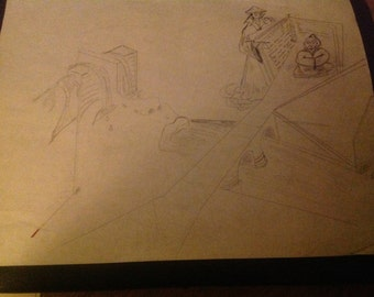 OOAK Drawing