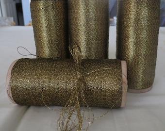 French Metallic Gold Thread