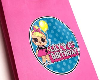 LOL Doll Personalized Birthday Design