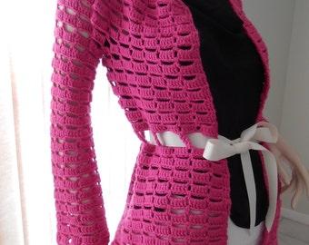 Sassy Pink Cardigan/Jacket