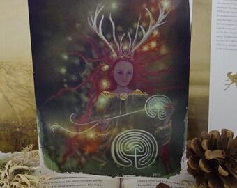 Path Weaver A5 Art Card