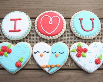 Love Bird Sugar Cookies