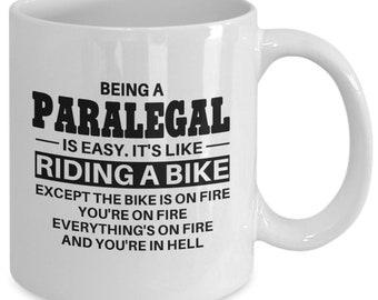 Paralegal, Paralegal mug, paralegal gift, paralegal coffee mug, mug for paralegal, gift for paralegal