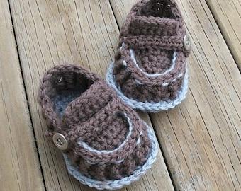 Download Now - CROCHET PATTERN Modern Baby Loafers - Pattern PDF