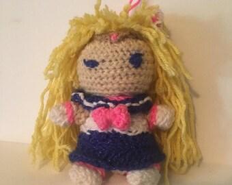 Sailor Moon Crochet Doll