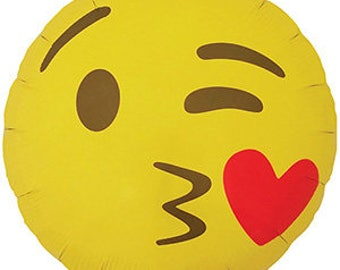 Emoji BALLOON, Kissing Heart