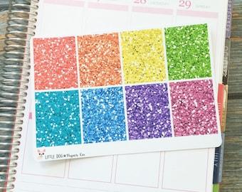 Glitter Full Boxes // Multicolor