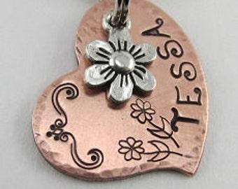 Heart Dog Tag, Dog Tag, Dog Name Tag, Dog ID Tag, Pet ID Tag, Pet Tag, Personalized Pet ID Tag, Pet Accessories, Dog Collar Tag, Dog Gifts