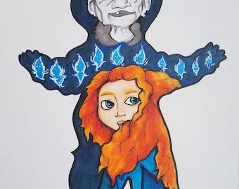 Resultado de imagem para merida witch