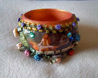 Cuff Bracelet -The Lady of Shalott