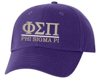 Phi Sigma Pi, Phi Pi, Phi Sigma Pi baseball hat, Phi Pi hat, Phi Sigma Pi hat, sorority hat, little big, sorority gift, greek gift