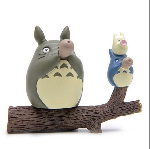 Bon 3pc Totoro On Tree Play Vertical Flute Home Decor Fairy Garden Accessories  Miniature Fairies Accessories Succulent Terrarium Supplier From GfanStudio  On ...