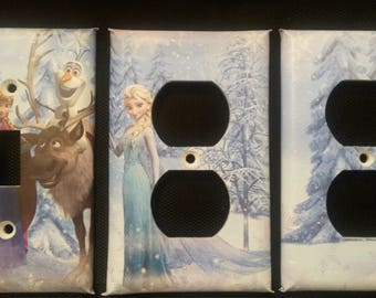 Frozen Movie Light Switch and Outlet Covers; Free Shipping!