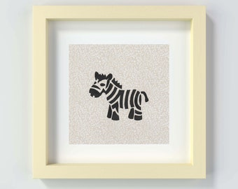 Zebra Nursery Art, Nursery Wall Art, Zebra Art, Zebra Print, Nursery Decor, Nursery Print, Safari Nursery, Safari Theme Decor, Safari Prints