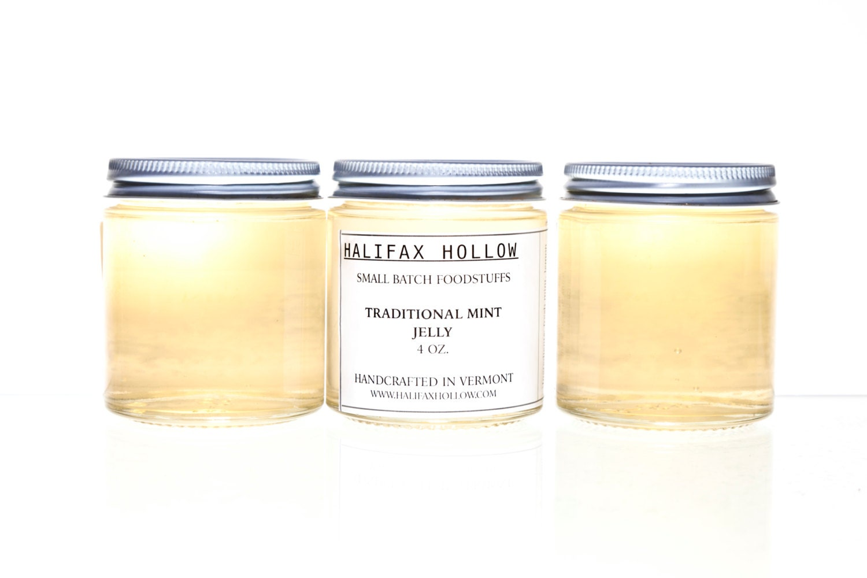 Mini Jam Jar Favors Mint Jelly Savory Jelly Foodie Gift