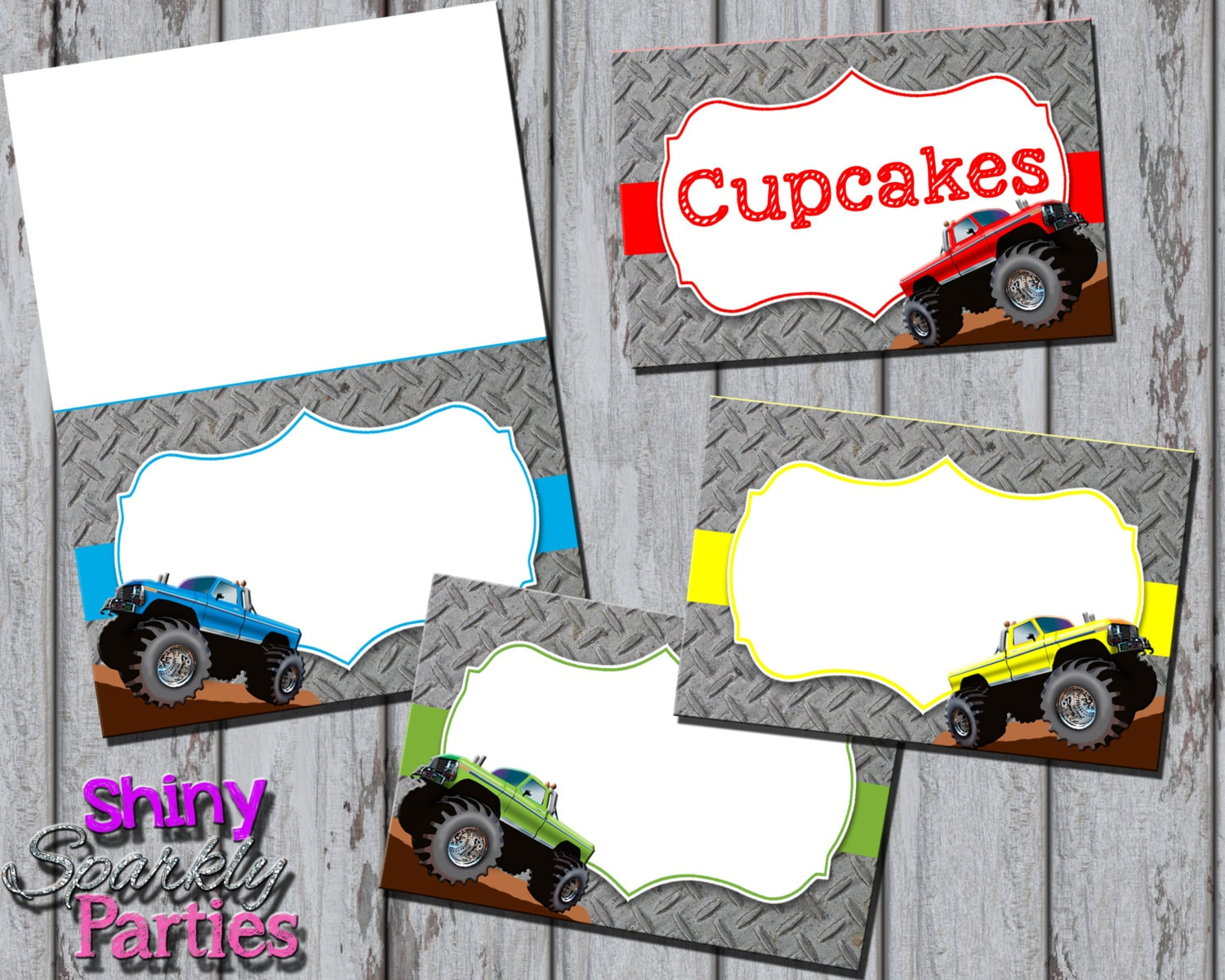 photograph relating to Monster Truck Birthday Invitations Free Printable called Monster Truck Birthday Invites Printable Monster Truck