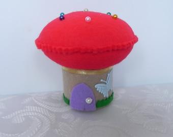 Toadstool Pincushion