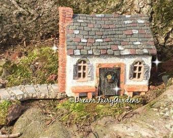 fairy garden house, fairy garden cottage, miniature fairy house, miniature house, gnome house, tiny fairy house, small house