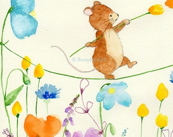 COURAGE - In the Meadow Series - Art Print