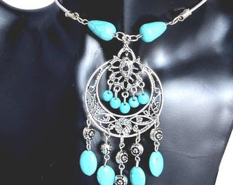 Vintage Style Turquoise Necklace