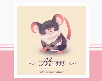 Tier-ABC - M wie Maus