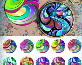 "Brilliant colors - One 4x6 high-resolution, 300dpi, JPEG file with 15 1"" Circle images."