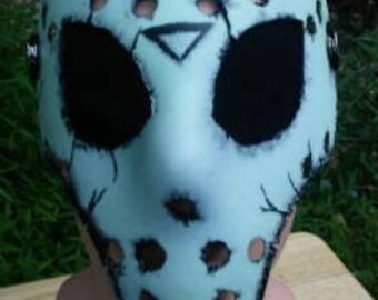 Glow In The Dark Alien Jason Mask