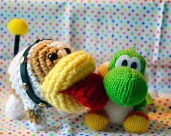 Yoshi's Woolly World Poochy Crochet Plush Amigurumi