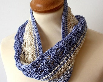 Knitting Pattern (PDF file) Cowl Everyday Style