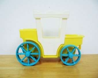 Vintage Fisher Price Castle Carriage