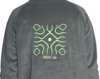 Sweatshirt fleece neon fluorescent Hertz 1820