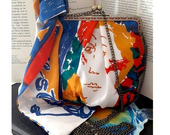 Picasso inspired bag