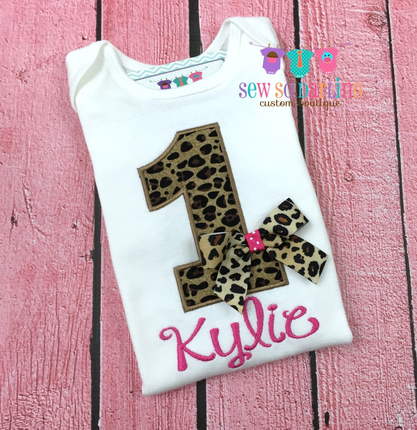 Baby Girl Cheetah Birthday Outfit Cheetah Print Birthday