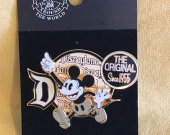 Disney Pin Mickey Mouse...The Original Since 1955