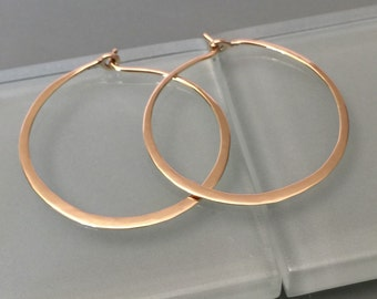 14k hoop earrings, 14k yellow gold hoop earrings,14k rose gold hoop earrings, 10k hoop earrings, 14k white gold hoop earrings, 14k gold hoop