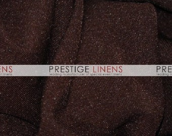 "CLOSEOUT FABRIC - Polyester 60"" Poplin Dress Apparel - Brown - 1.5 Yard"