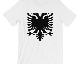 Albanian Double Headed Eagle T-Shirt - Eagle T-Shirt - Albanian T-Shirt