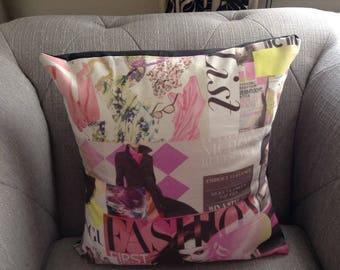 Cushion/Pillow covers Vogue magazine print
