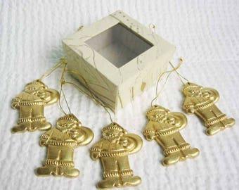 Christmas Santa Claus Golden