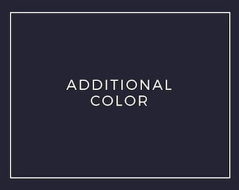 Premade Logo Add On: Additional Color
