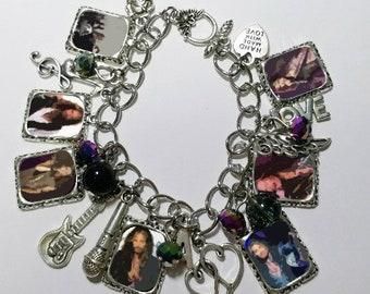 Steven Tyler charm bracelet