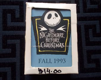 Nightmare Before Christmas Fall 1993   Trading Cards
