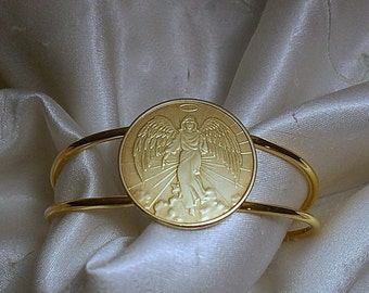Guardian Angel Medal Bracelet