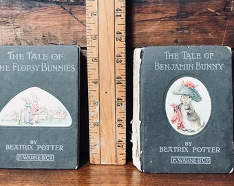 Beatrix Potter The Tale of the Flopsy Bunnies and The Tale of Benjamin Bunny