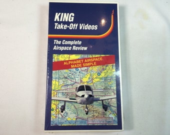 KING TAKE OFF Videos- (The Complete Airspace Review) Vhs  New
