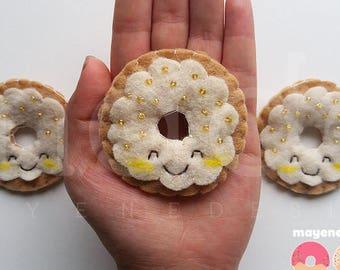 banane Tarte à la crème donut broche feutre alimentaire